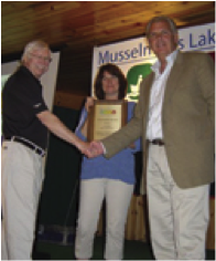Councillor Bannon receives award at MLRA meeting  (2008)