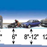 BE SAFE AND BE AWARE OF EVER CHANGING ICE CONDITIONS