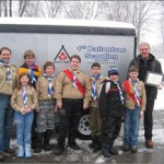 Money was raised at the 07 Winter Carnival for a trailer to attend scout jamborees.