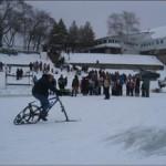 KTRAK winter cycling demo rides.
