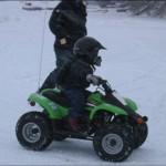 ATV rides were non stop fun.