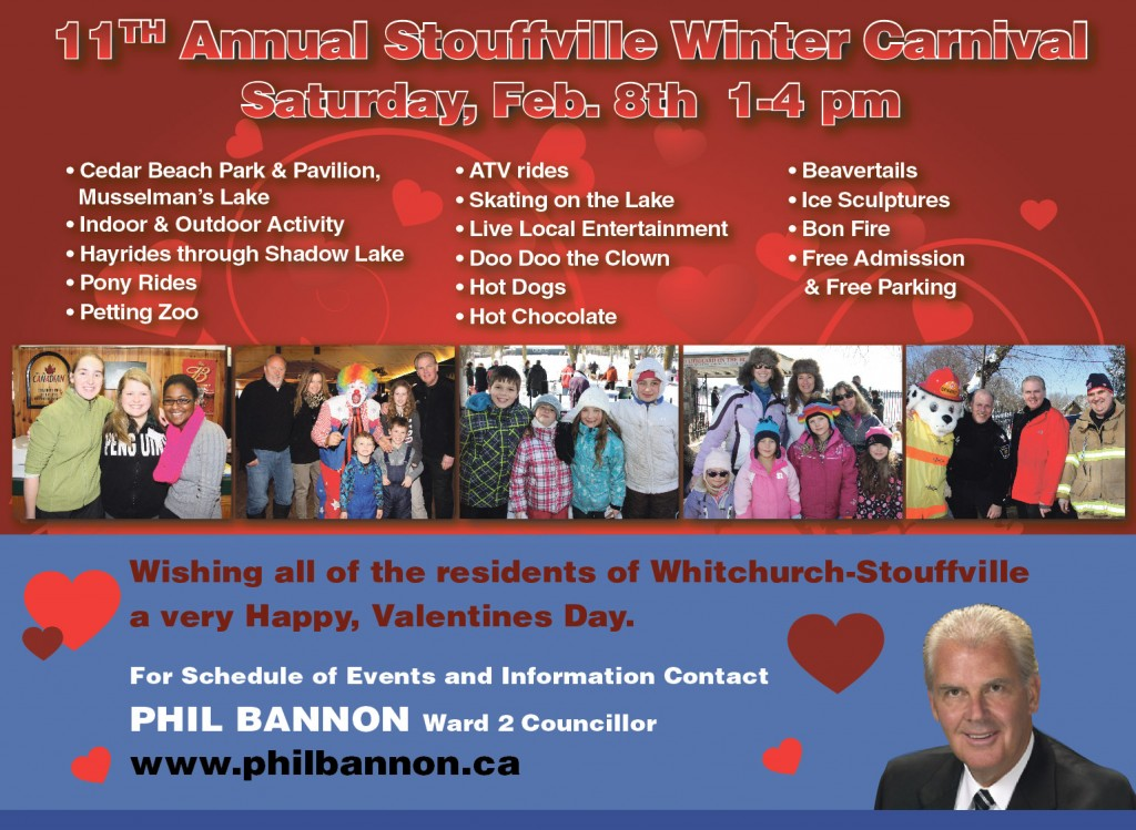 Winter Carnival flyer 2014