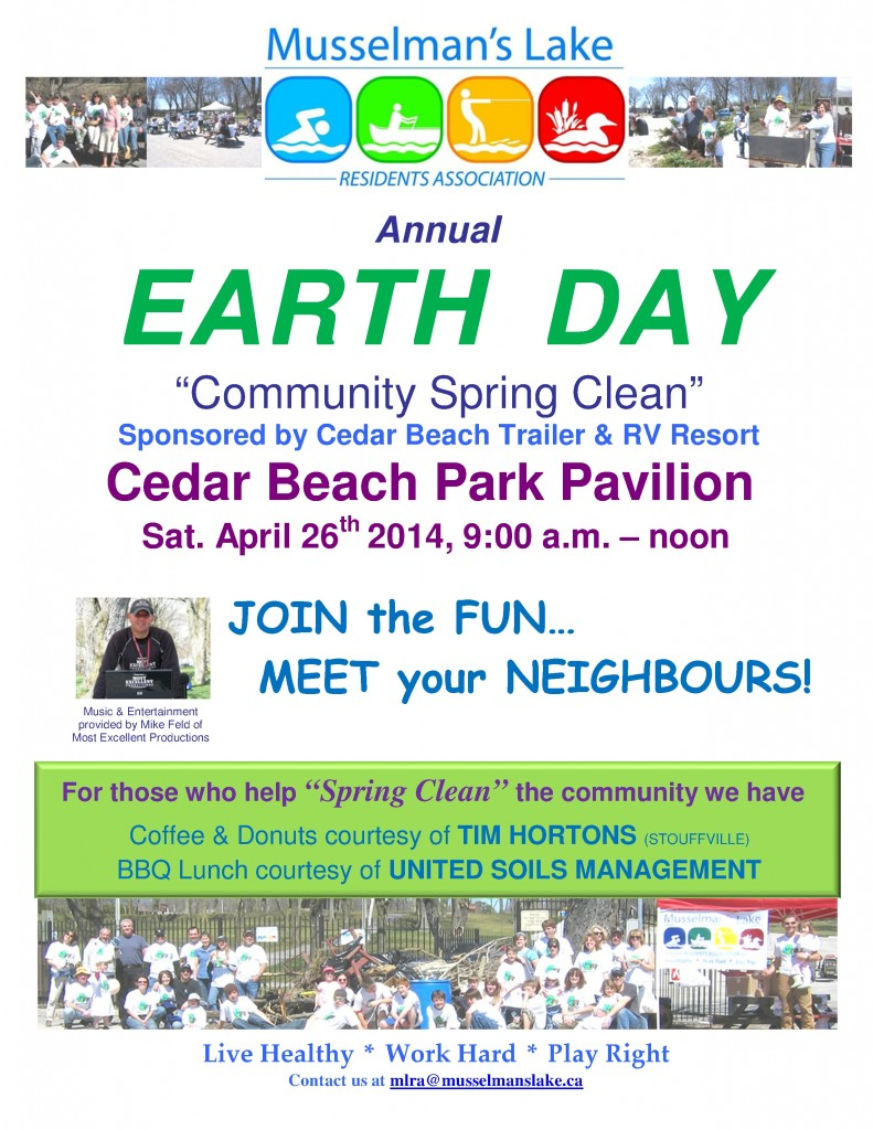 MLRA Earth Day Spring Clean Event