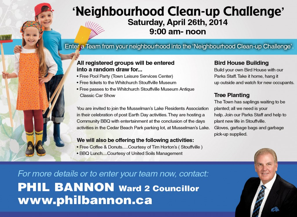 Neighbourhood  Clean-Up.
